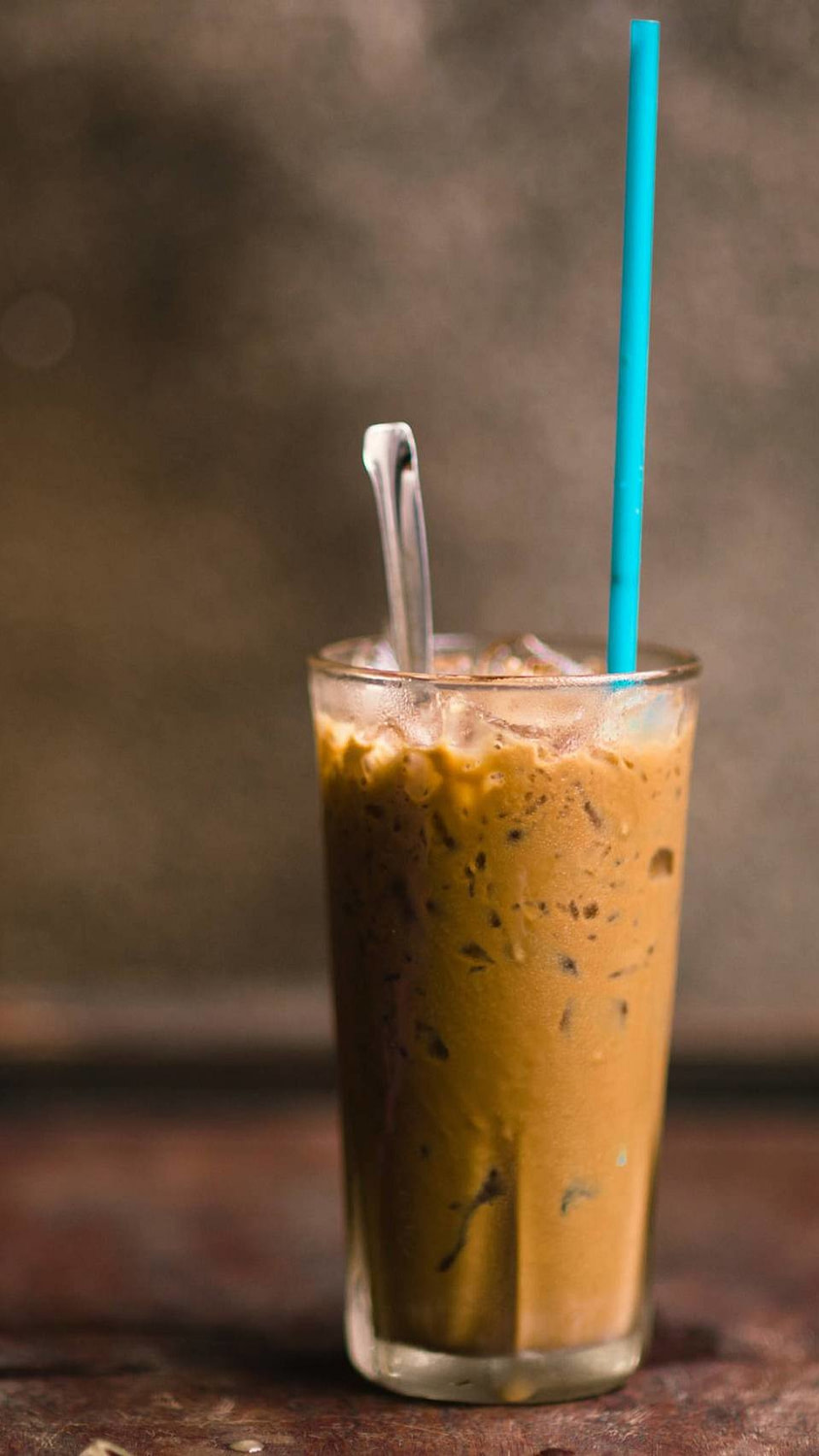 A still photo of Vietnamese Coffee from a coffee shop in Hanoi